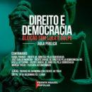 Frente Brasil Popular promove aula pública sobre Direito e Democracia em frente ao TRF4